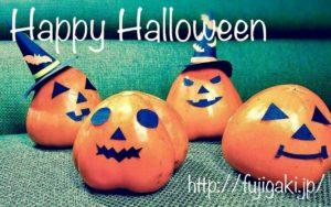 Happy Halloween!!おばけ巨大富士柿のランタン!?